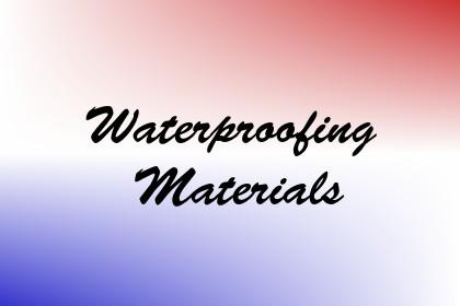 Waterproofing Materials Image