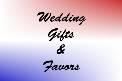 Wedding Gifts & Favors Image