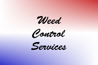 Weed Control Services Image