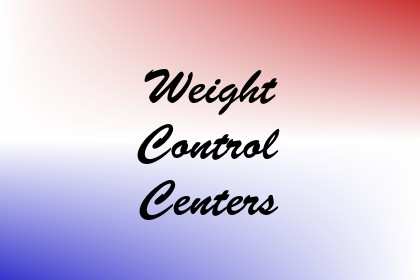 Weight Control Centers Image