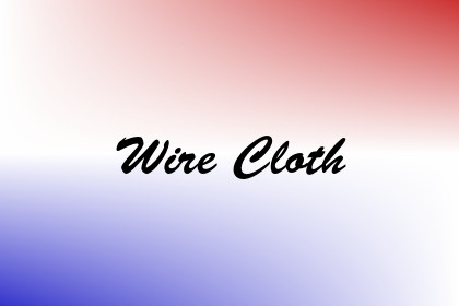 Wire Cloth Image