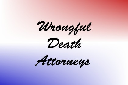 Wrongful Death Attorneys Image