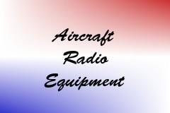 Aircraft Radio Equipment