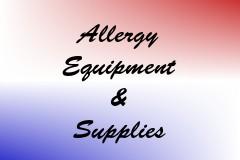 Allergy Equipment & Supplies
