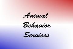Animal Behavior Services