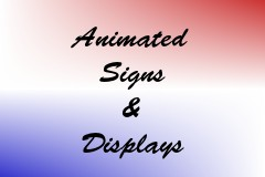 Animated Signs & Displays