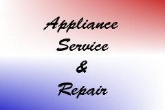 Appliance Service & Repair