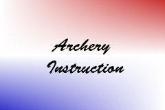 Archery Instruction