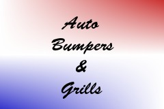 Auto Bumpers & Grills
