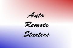 Auto Remote Starters