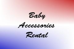 Baby Accessories Rental