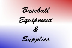 Baseball Equipment & Supplies