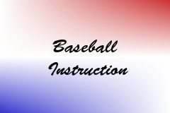 Baseball Instruction