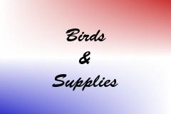 Birds & Supplies