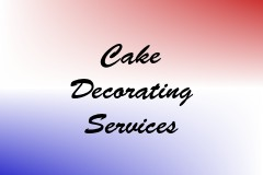 Cake Decorating Services