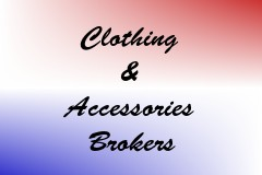 Clothing & Accessories Brokers