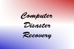 Computer Disaster Recovery