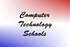 Computer Technology Schools