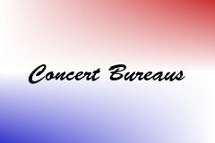 Concert Bureaus
