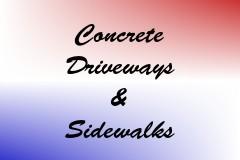 Concrete Driveways & Sidewalks