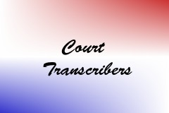Court Transcribers