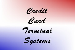 Credit Card Terminal Systems