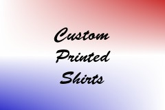Custom Printed Shirts