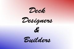 Deck Designers & Builders