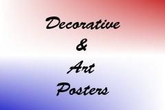Decorative & Art Posters