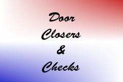 Door Closers & Checks
