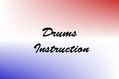 Drums Instruction