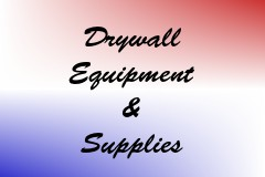 Drywall Equipment & Supplies