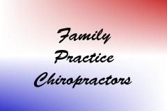 Family Practice Chiropractors