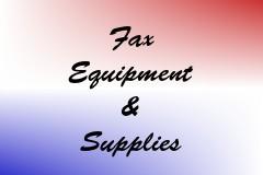 Fax Equipment & Supplies