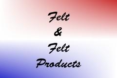 Felt & Felt Products