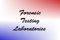 Forensic Testing Laboratories