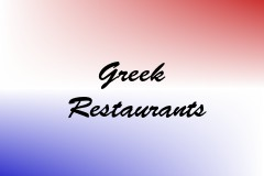 Greek Restaurants
