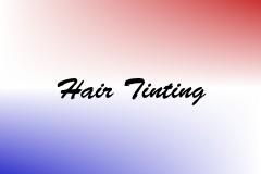 Hair Tinting