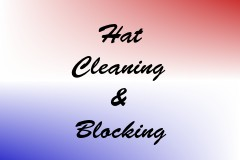 Hat Cleaning & Blocking