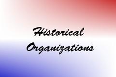Historical Organizations
