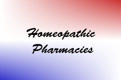 Homeopathic Pharmacies