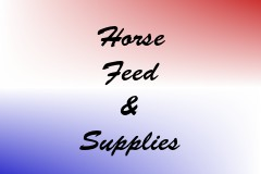 Horse Feed & Supplies