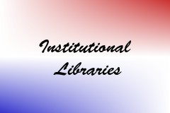 Institutional Libraries