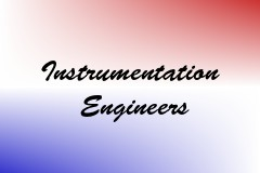 Instrumentation Engineers