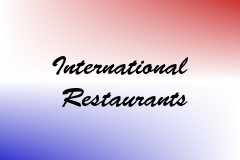 International Restaurants