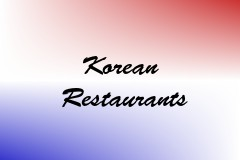 Korean Restaurants