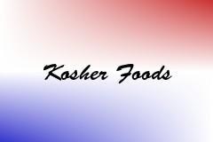 Kosher Foods
