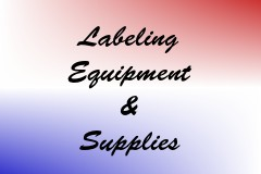 Labeling Equipment & Supplies