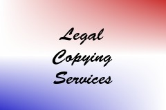 Legal Copying Services