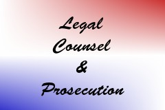 Legal Counsel & Prosecution